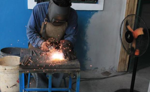 The steelworkers for Proyecto Mirador are the best in Honduras.