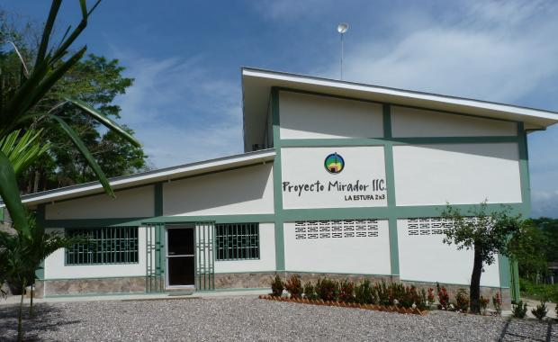 Proyecto Mirador Office in Honduras.