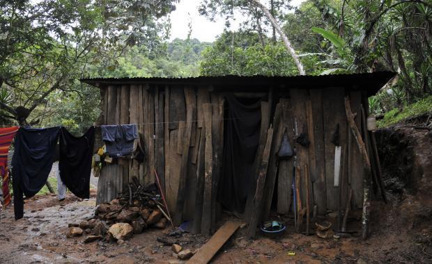 Una casa rural.