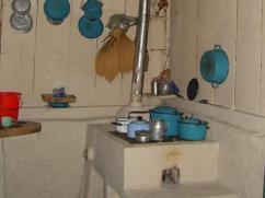 Una hermosa cocina Hondureña.