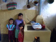 Esta familia cuida mucho de su estufa.