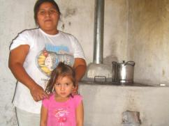 Una nueva estufa en Las Delicias.