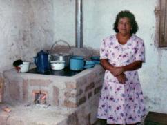 Una nueva estufa en San Nicolás.