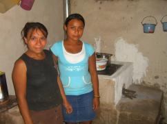 Una nueva estufa en el Municipio de Ceguaca.