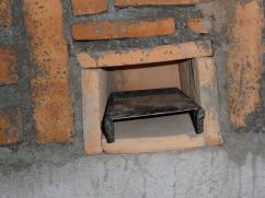 Hemos añadido esta parilla para incrementar la eficiencia de la estufa.