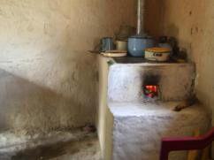 Las mujeres nos dicen que la estufa es lo más bonito en sus casas.
