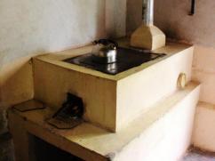 Esta estufa esta bien mantenida ya que se utiliza (Foto cortesía de S Hossein).