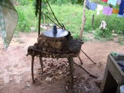 Una estufa se puede construir casi en cualquier superficie.