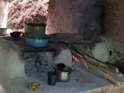 Estufa vieja #6, dos quemadores - Mayo de 2012.
