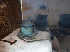 Cuando esta familia tuvo una oportunidad de participar en el proyecto de una estufa 2x3, decidieron quedarse con su vieja manera de cocinar.