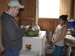 Mirador Supervisor hace una entrevista con un usuario.